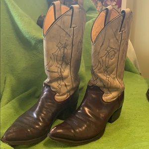 Justin boots size 9D